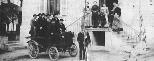 Das erste Auto im Dorf